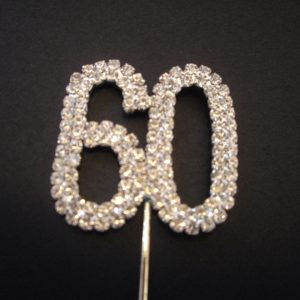 Diamante Cake Topper