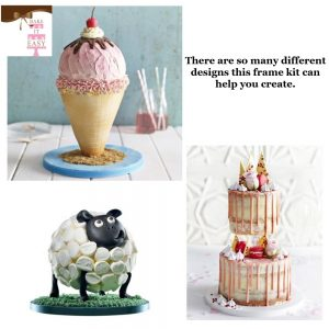 Anti-Gravity Cake Stand & Support Kit
