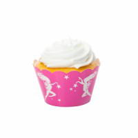 Fairy Pink Cupcake Wrapper