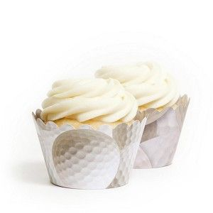 Golf Cupcake Wrappers