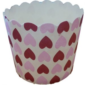 Hearts Baking Cups
