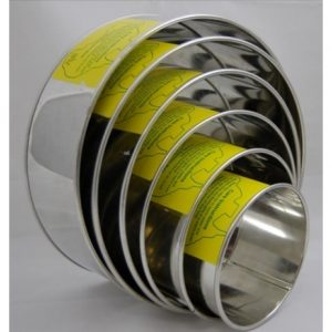 Set Of Six Round Tin's